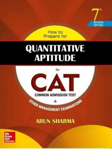 Quantitative Aptitude by Arun Sharma PDF Free Download - CAT 2016