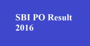 SBI PO Mains 2016 Result Release Date - Check Result @Sbi.co.in