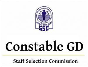 SSC Constable GD 2017 Cutoff marks @ ssconline2.gov.in